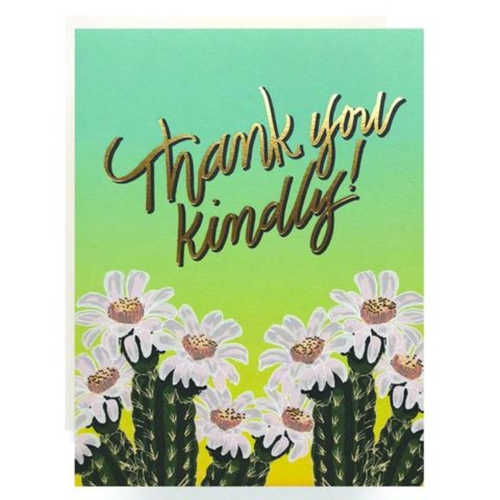 Thank You Card: Thank You Kindly
