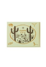 Thank You Card: Cactus