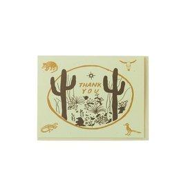 Thank You Card: Cactus