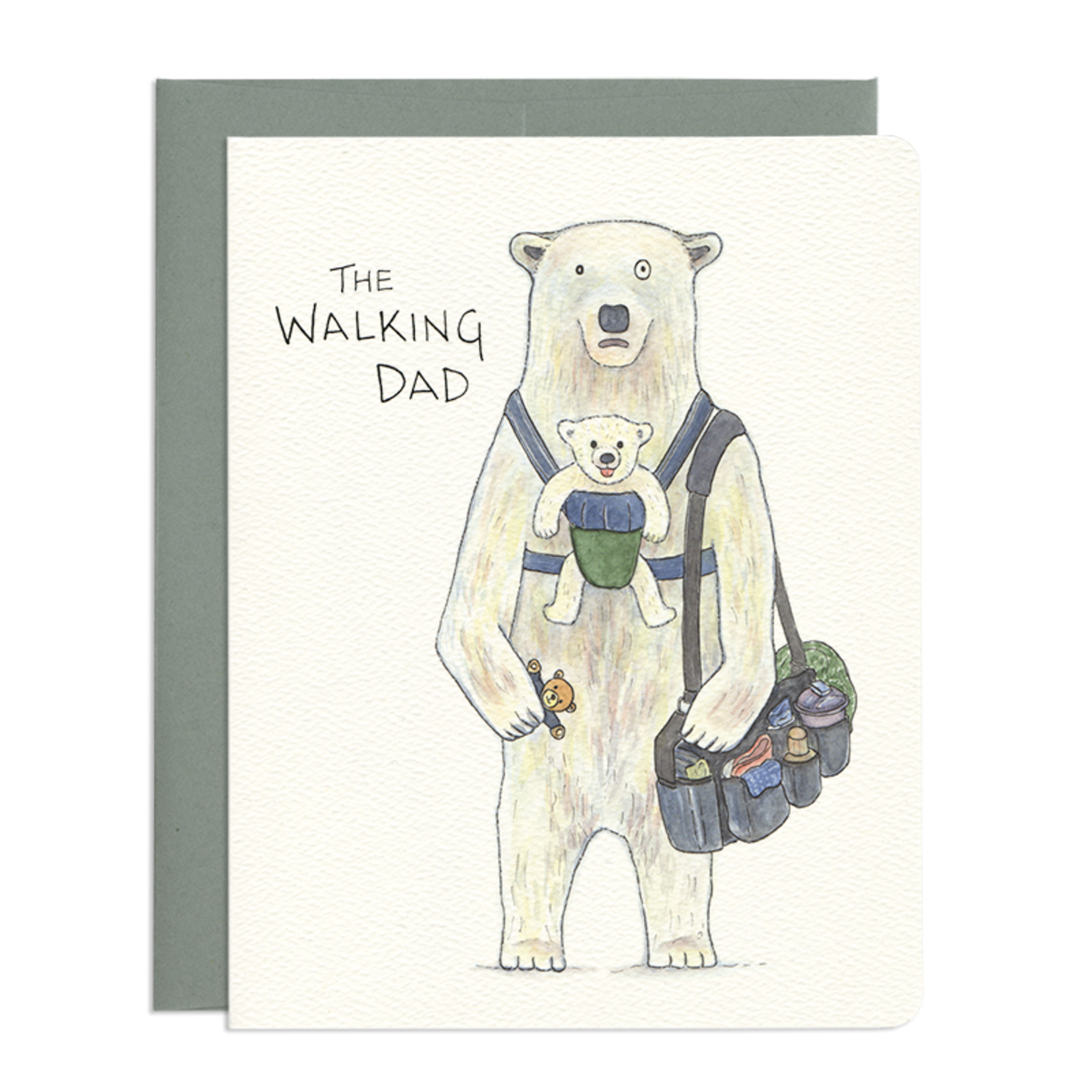 Father's Day Card: The Walking Dad