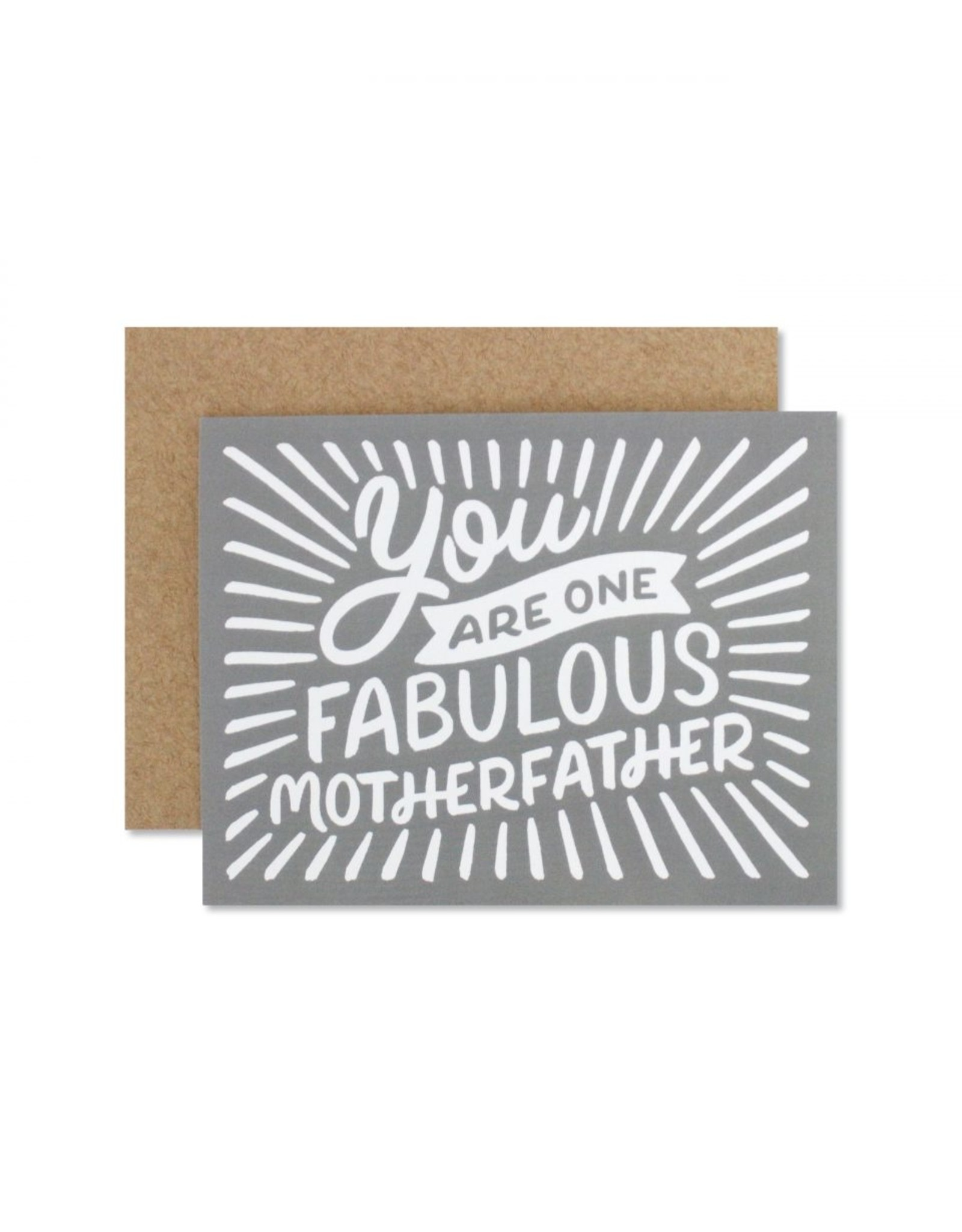 Father's Day Card: Motherfather