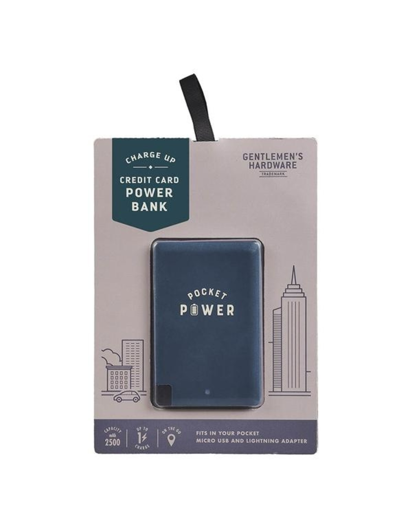 Credit Card Size Power Bank