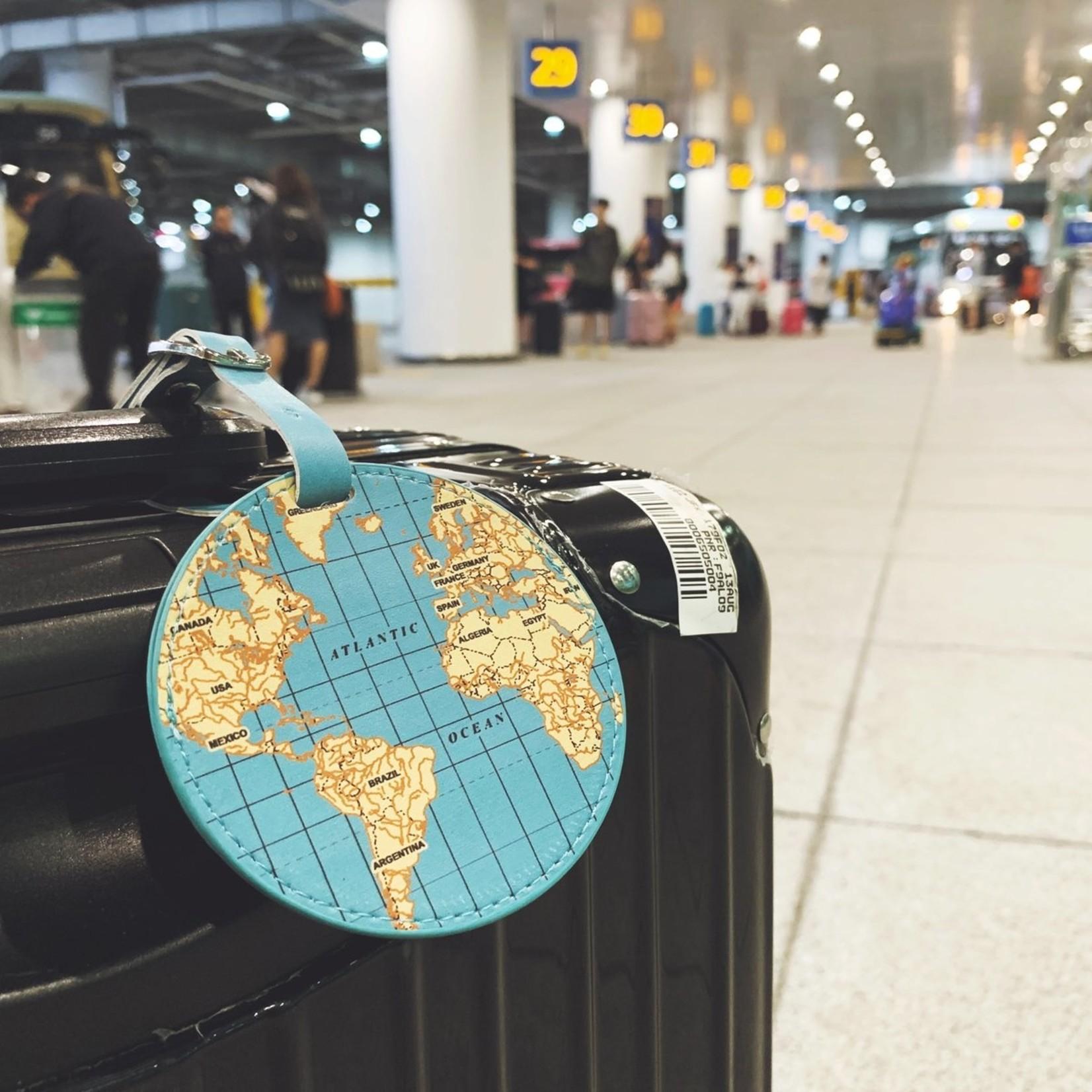 Kikkerland World Traveler Luggage Tag