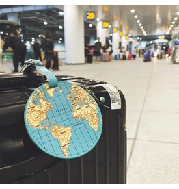 Kikkerland World Traveler Luggage Tag