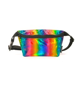 FYDELITY FYDELITY Fanny Pack in Rainbow Metallic