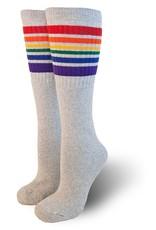 Pride Socks Pride Grey Tube Socks