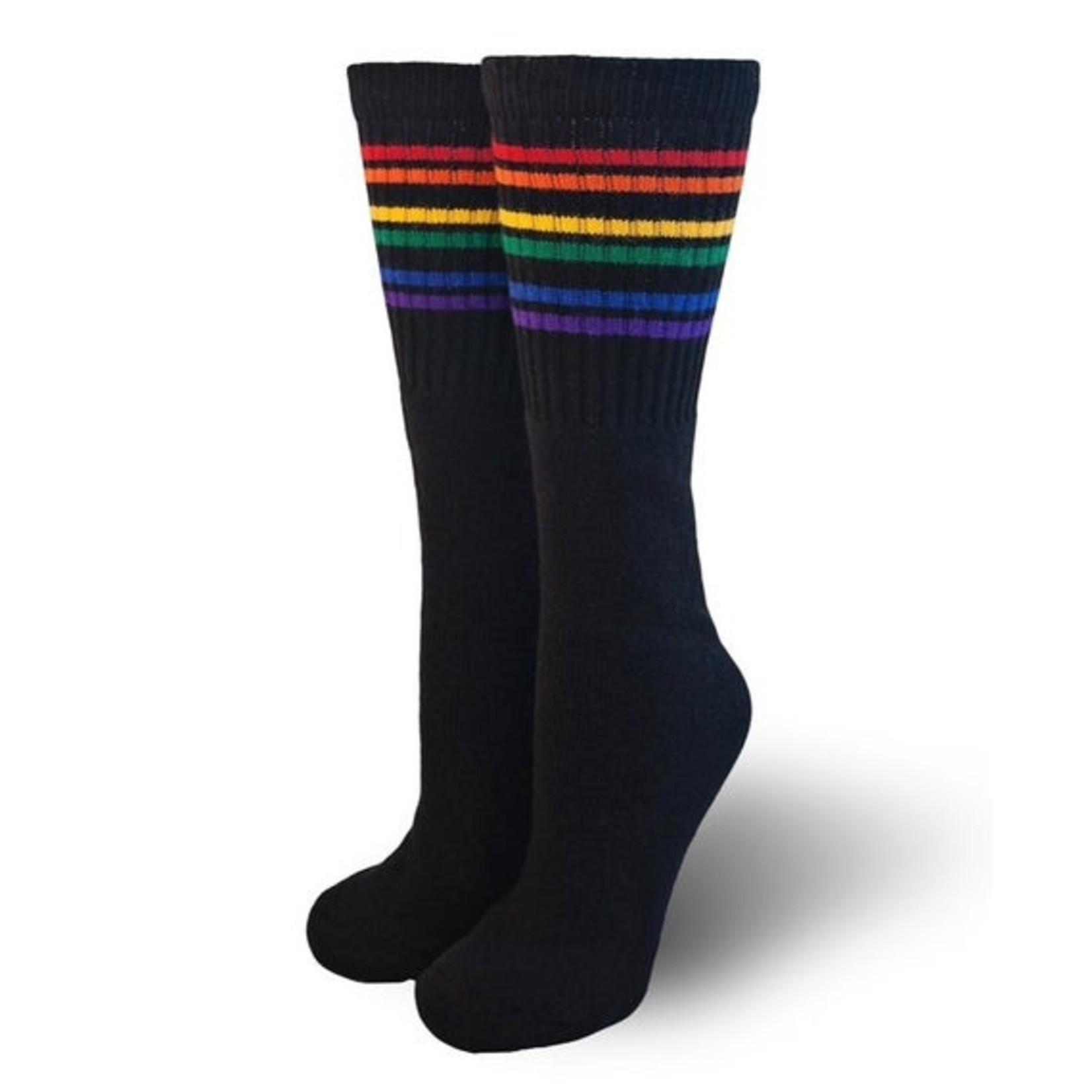 Pride Socks Pride Black Tube Socks