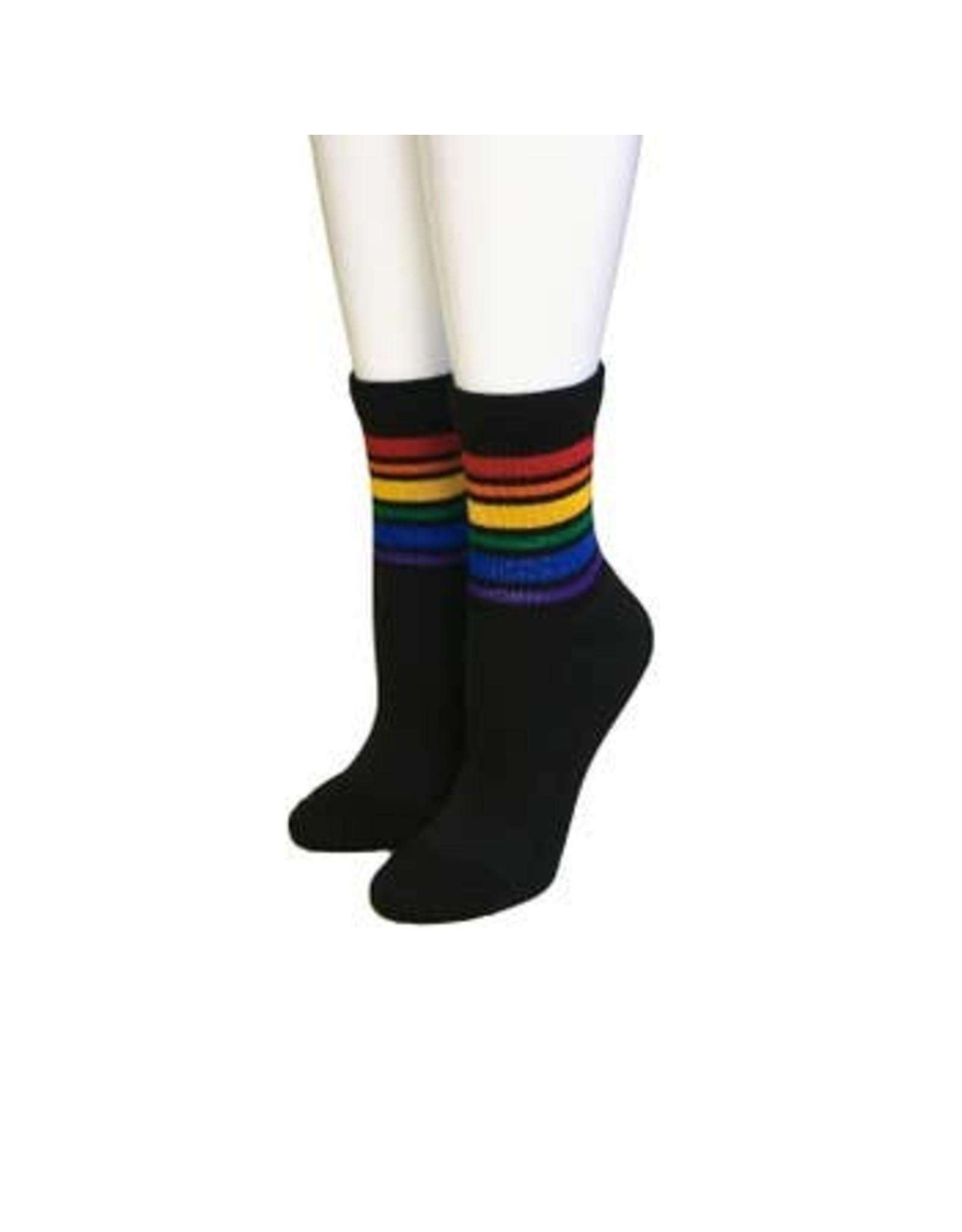 Pride Socks Women's Black Pride Socks