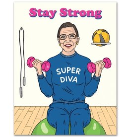 Birthday Card: Stay Strong
