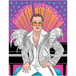 Birthday Card: Elton John