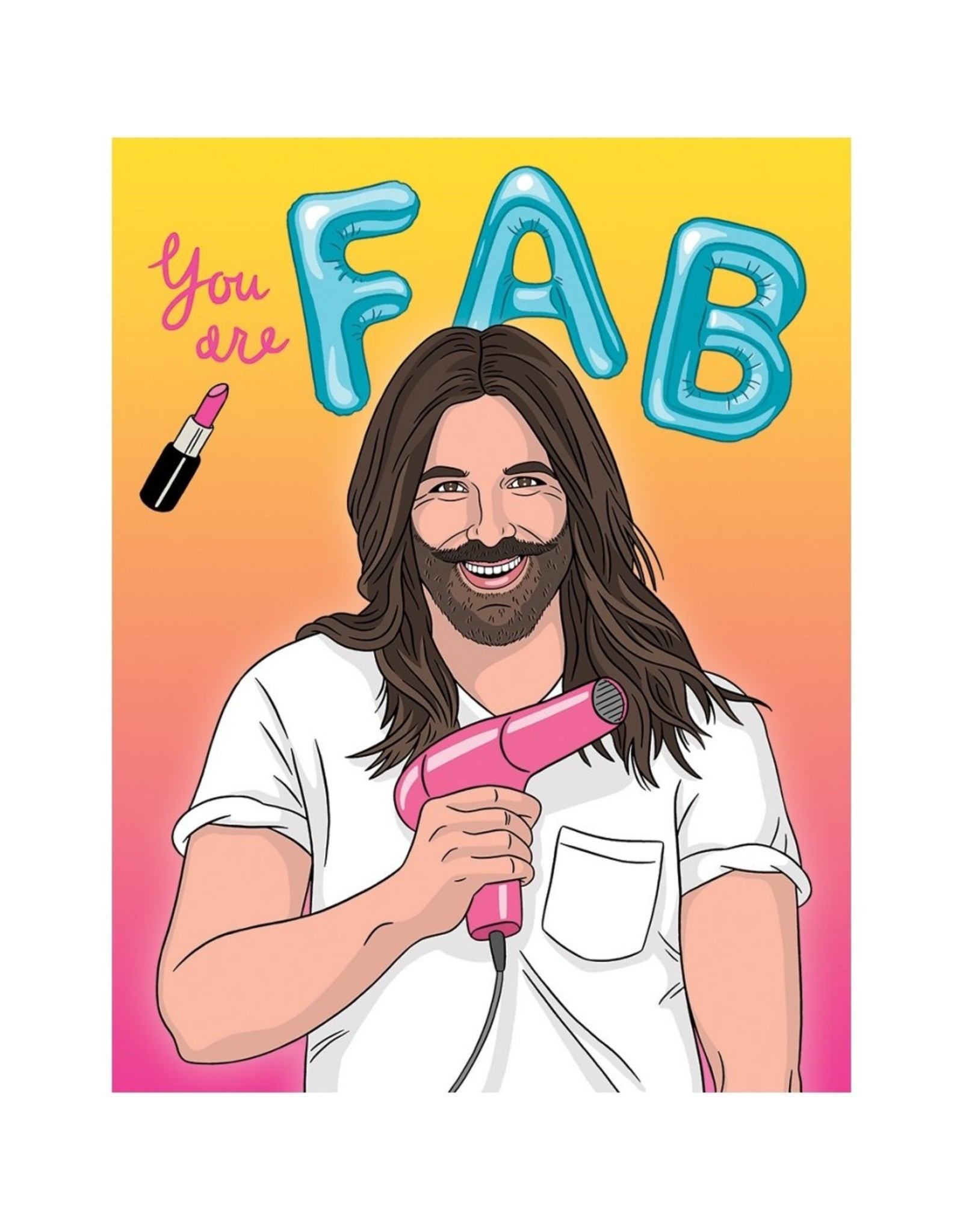 Birthday Card: You Are Fab