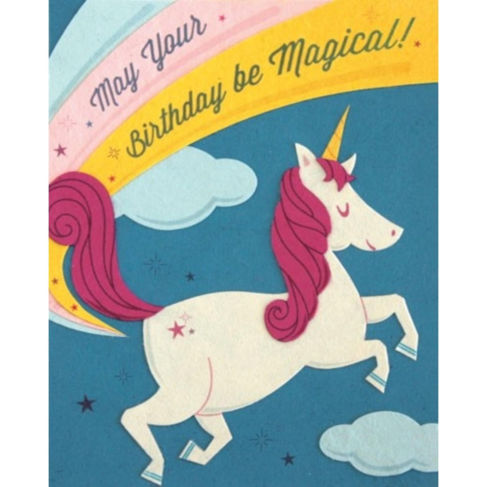 Birthday Card: B-Day Magic