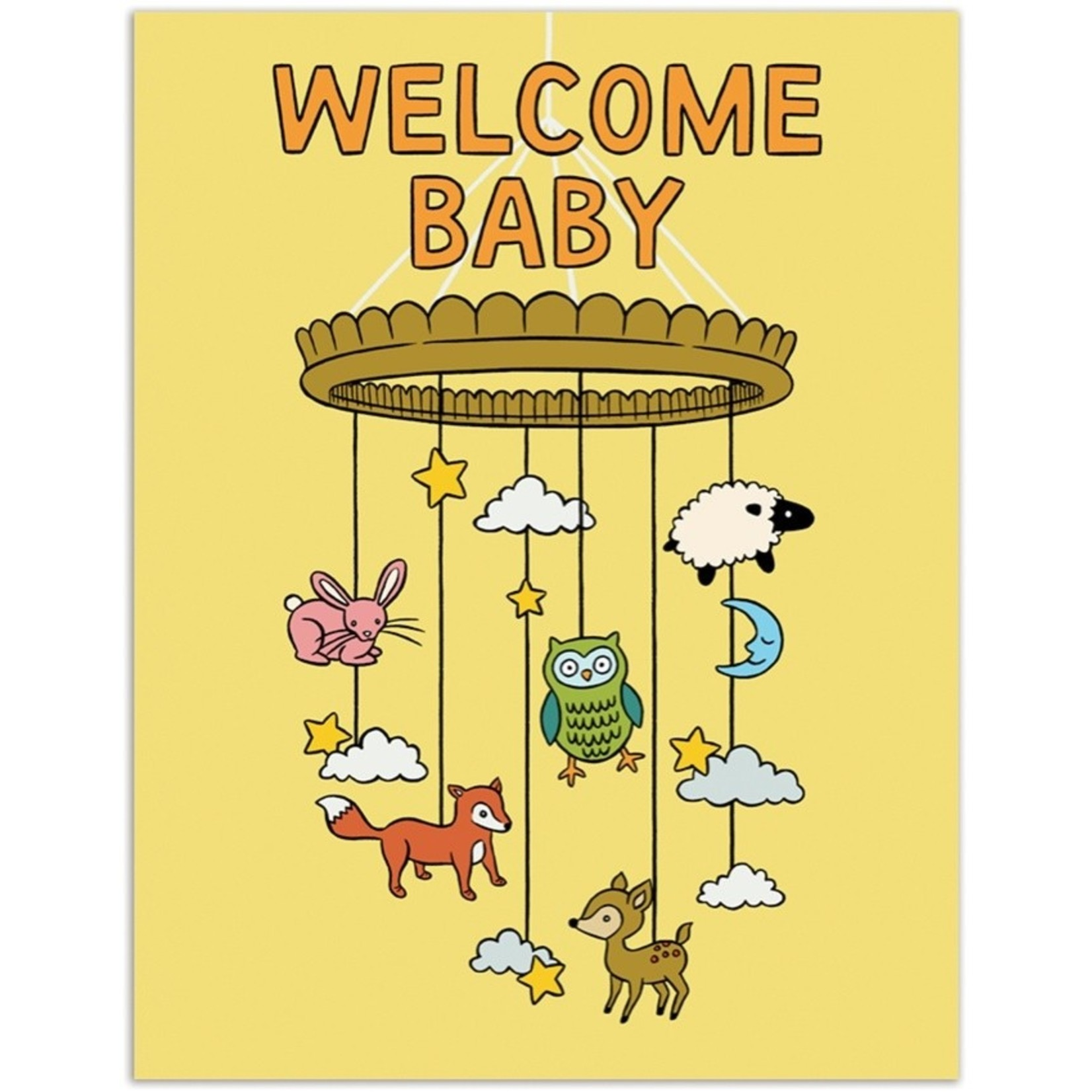 Baby Card:  Welcome Baby