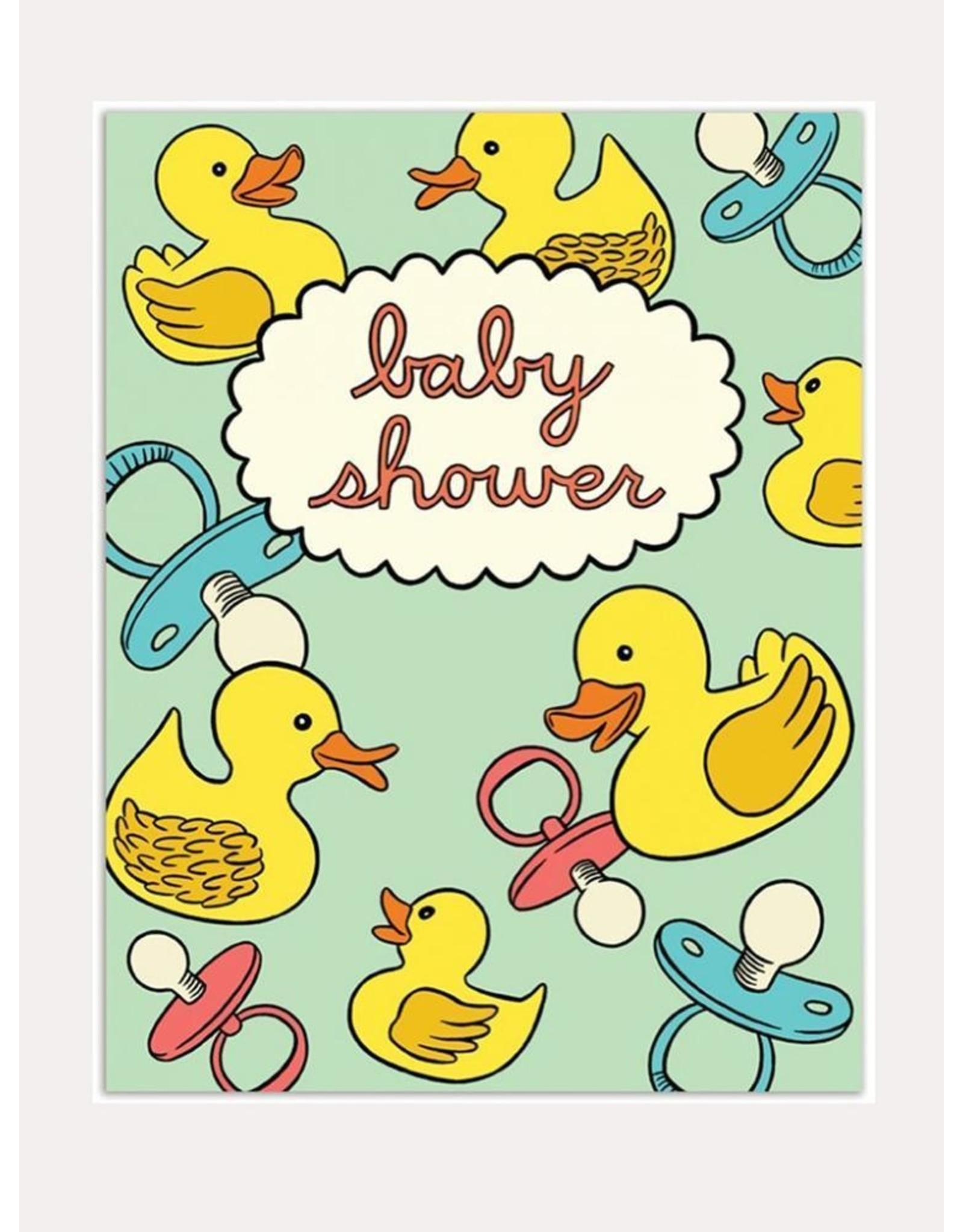 Baby Card:  Baby Shower