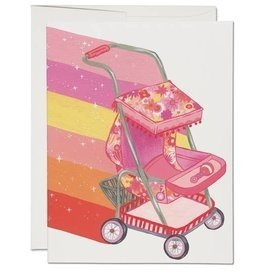 Baby Card:  Krista Perry Stroller