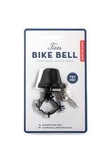 Kikkerland Bike Bell in Black