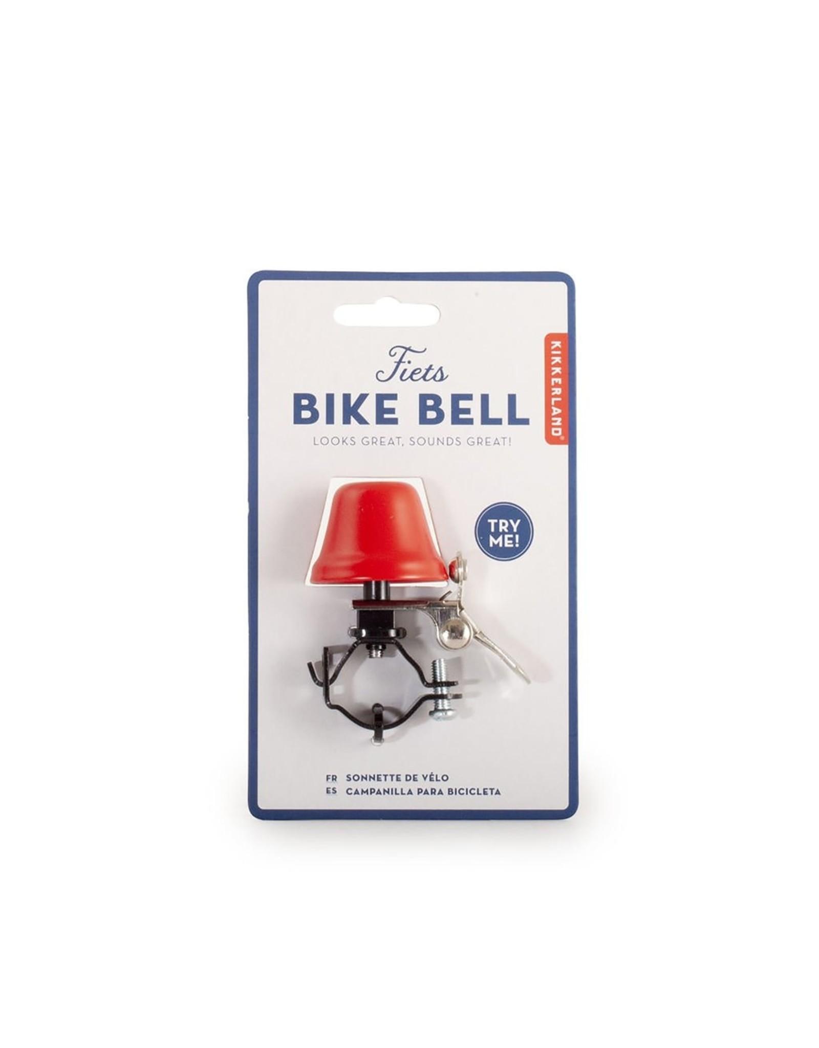 Kikkerland Bike Bell in Red