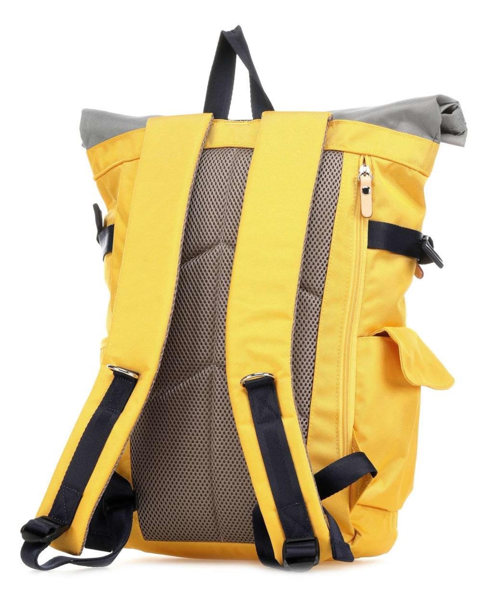 Molla Space Rolltop Backpack 2.0 - Mustard