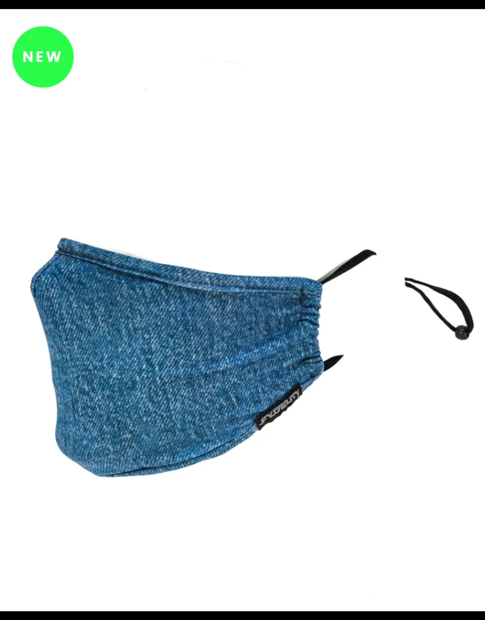 FYDELITY FYDELITY Face Mask - Blue Jean