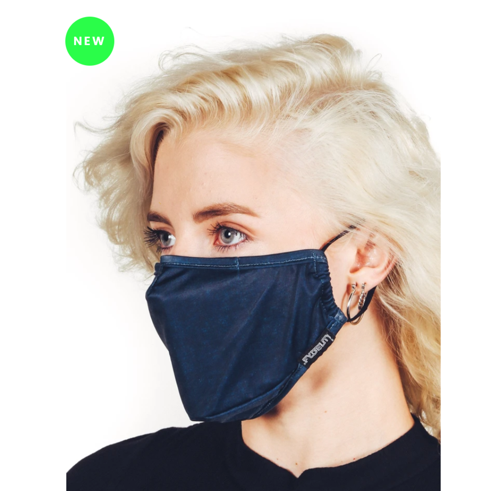 FYDELITY FYDELITY Face Mask - Blue Acid