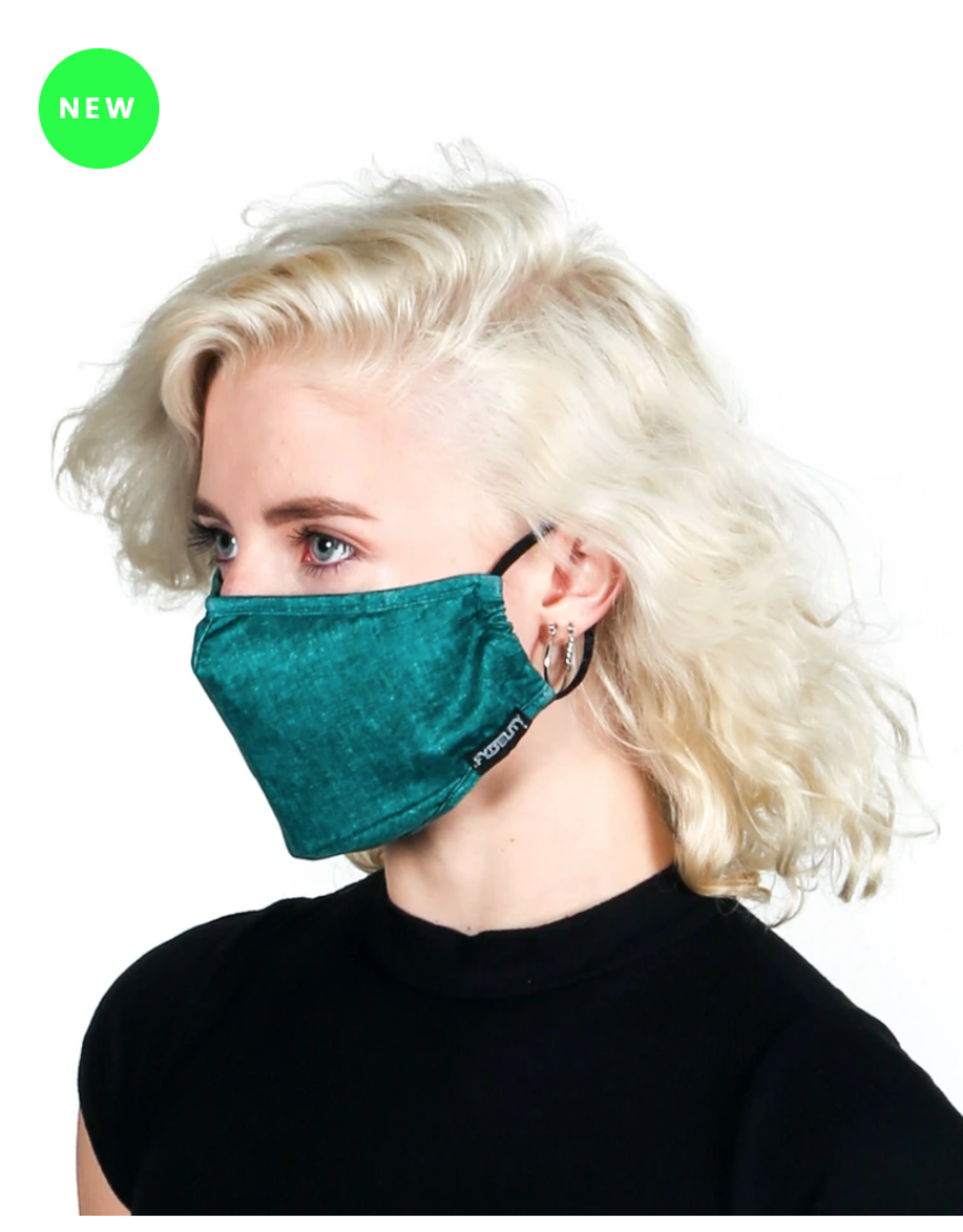 FYDELITY FYDELITY Face Mask - Green Acid