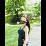 FYDELITY FYDELITY Face Mask - Tropical Black