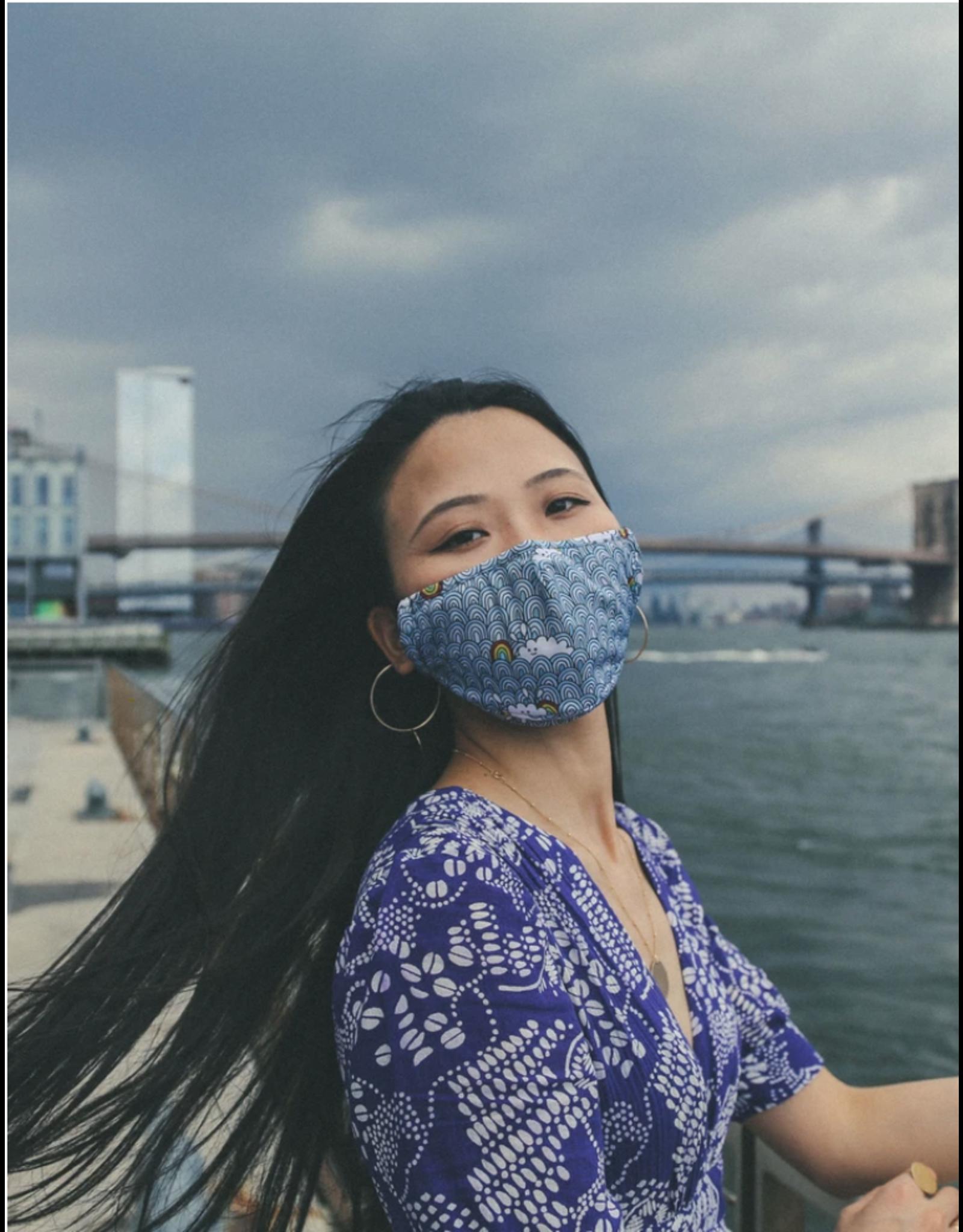 FYDELITY FYDELITY Face Mask - Bubble Clouds