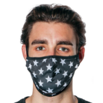 FYDELITY FYDELITY Face Mask - Black Star