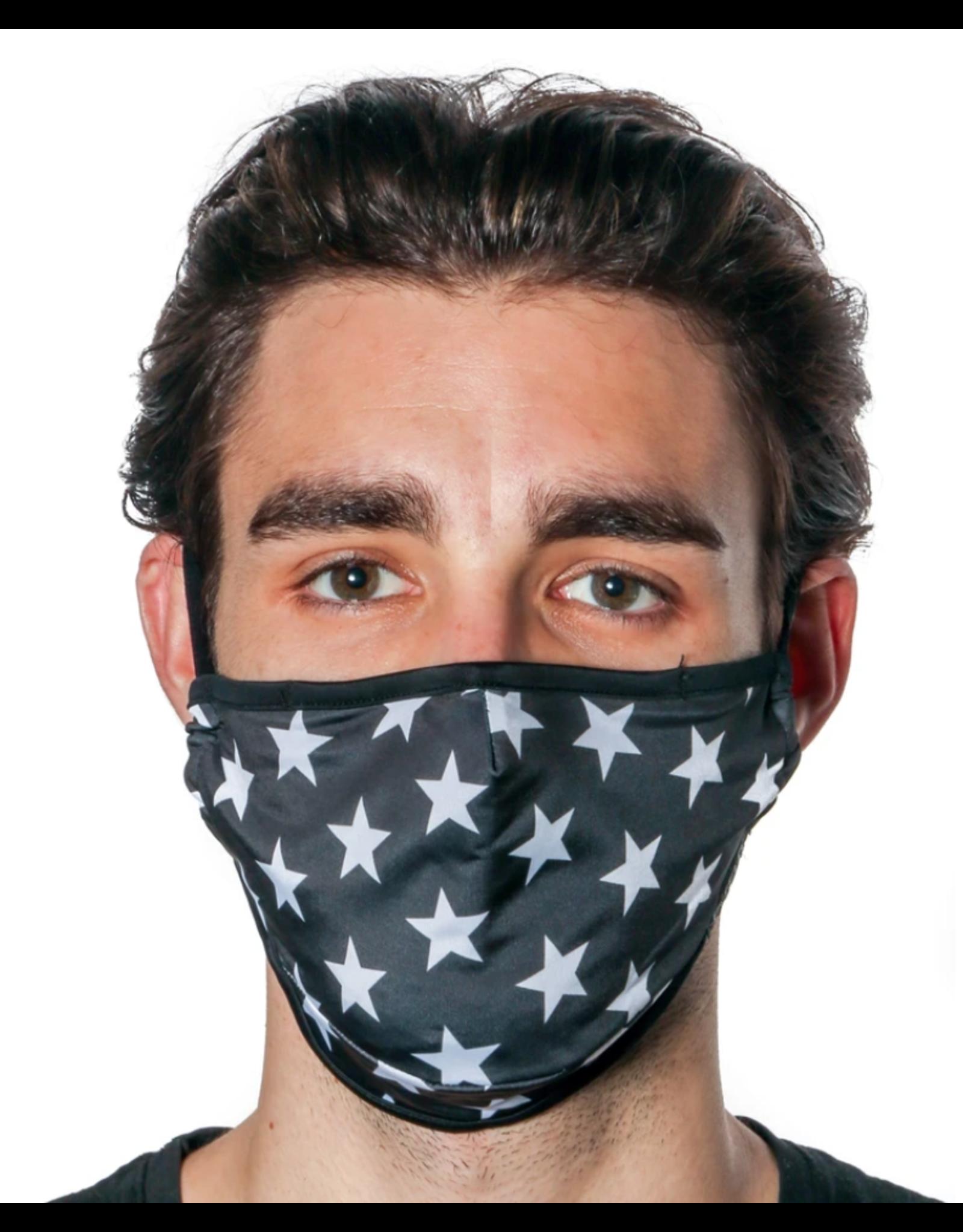 FYDELITY FYDELITY Face Mask - Black Star