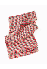 Look By M Lollipop Plaid Scarf Red