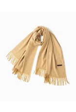Look By M Soft Noise Grain Yellow Scarf