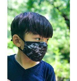 FYDELITY FYDELITY Face Mask Kids - Tie Dye Black