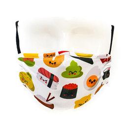 FYDELITY FYDELITY Face Mask Kids - Cute Sushi