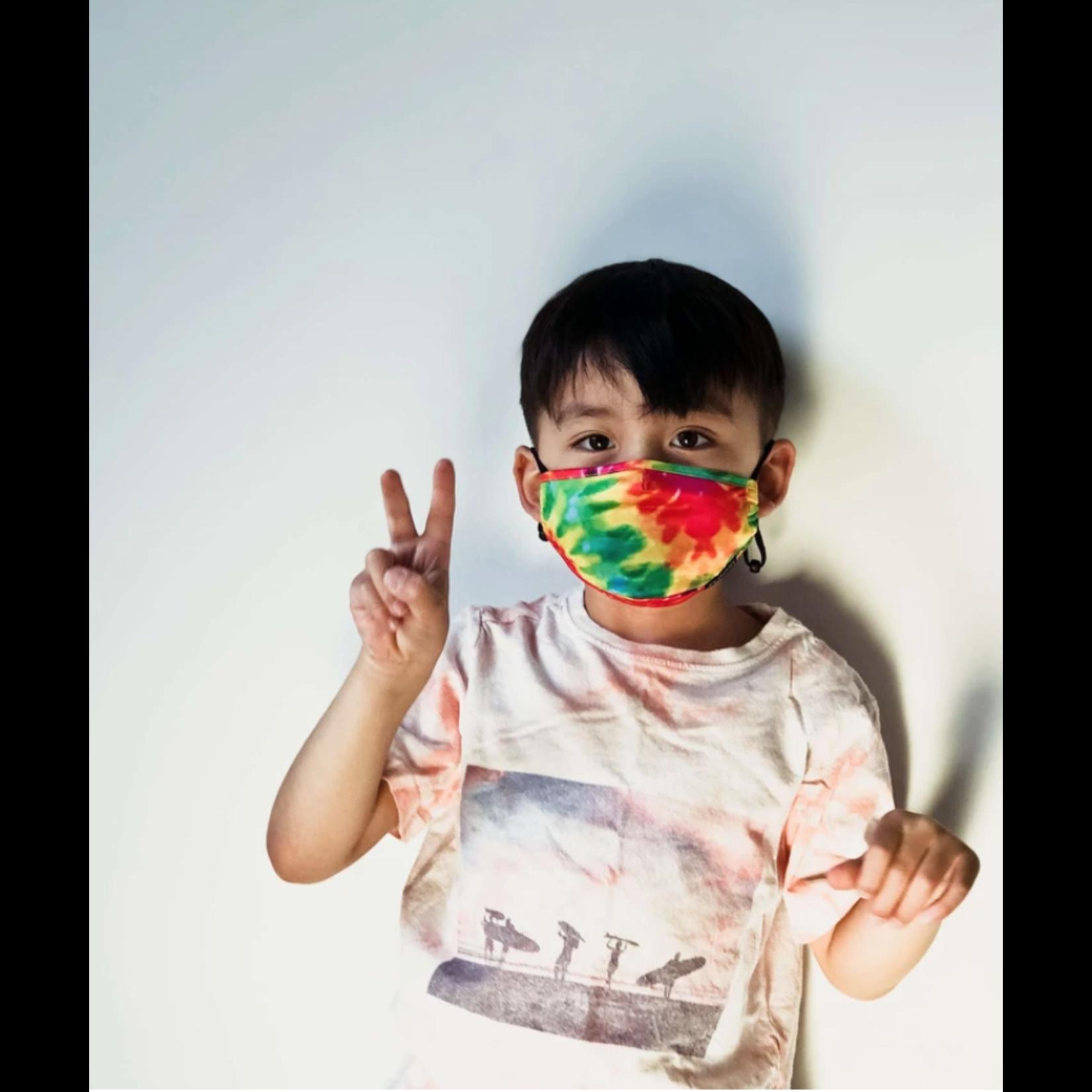 FYDELITY FYDELITY Face Mask Kids - Tie Dye