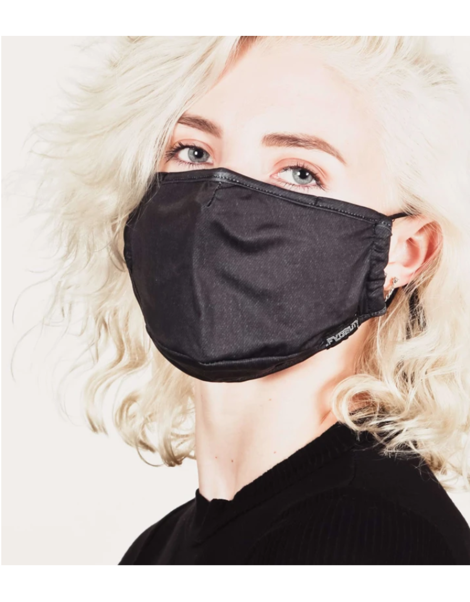 FYDELITY FYDELITY Face Mask - Black Denim
