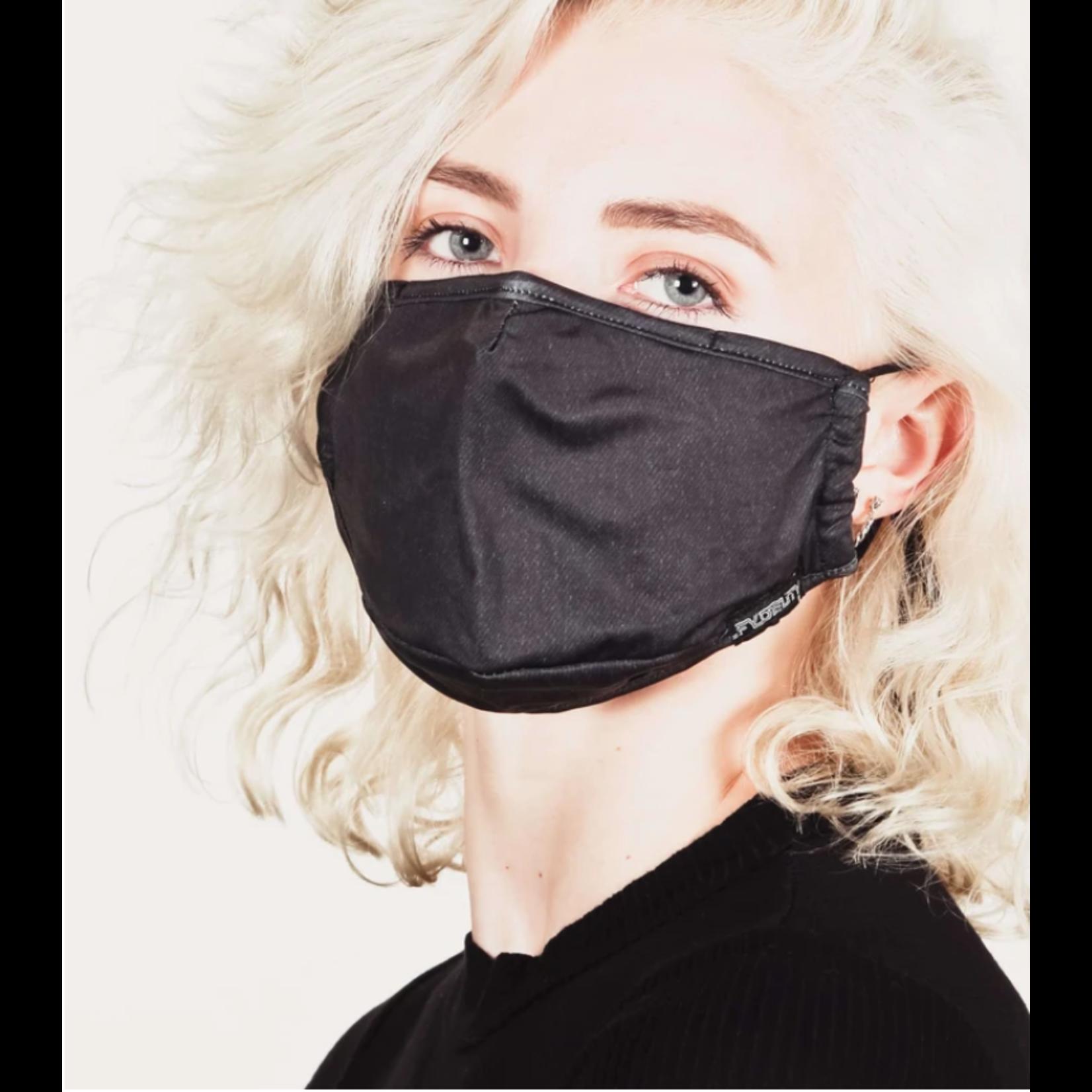 FYDELITY FYDELITY Face Mask - Black Denim