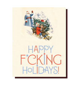 Holiday Card: Happy F***ing Holidays