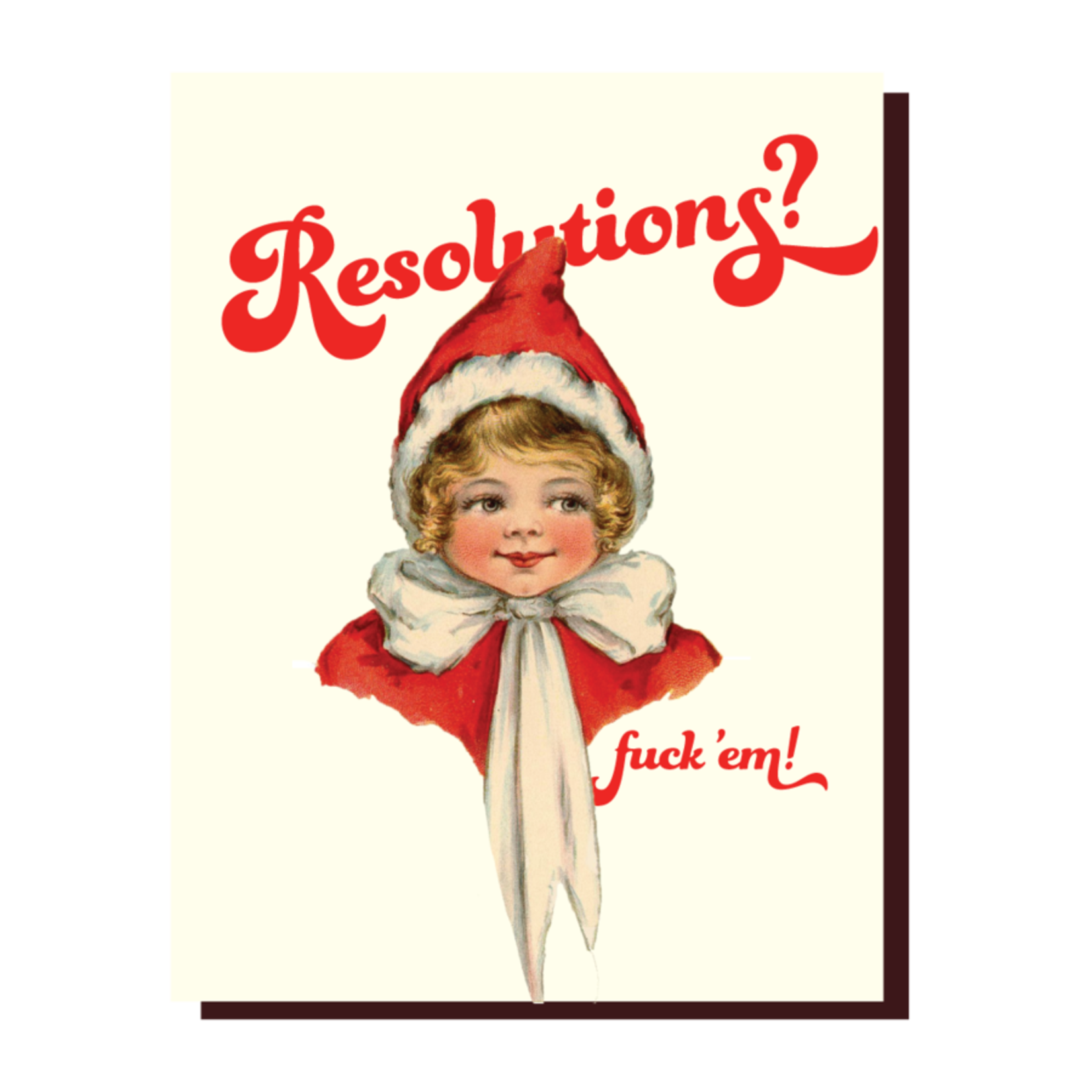 Holiday Card: Resolutions?