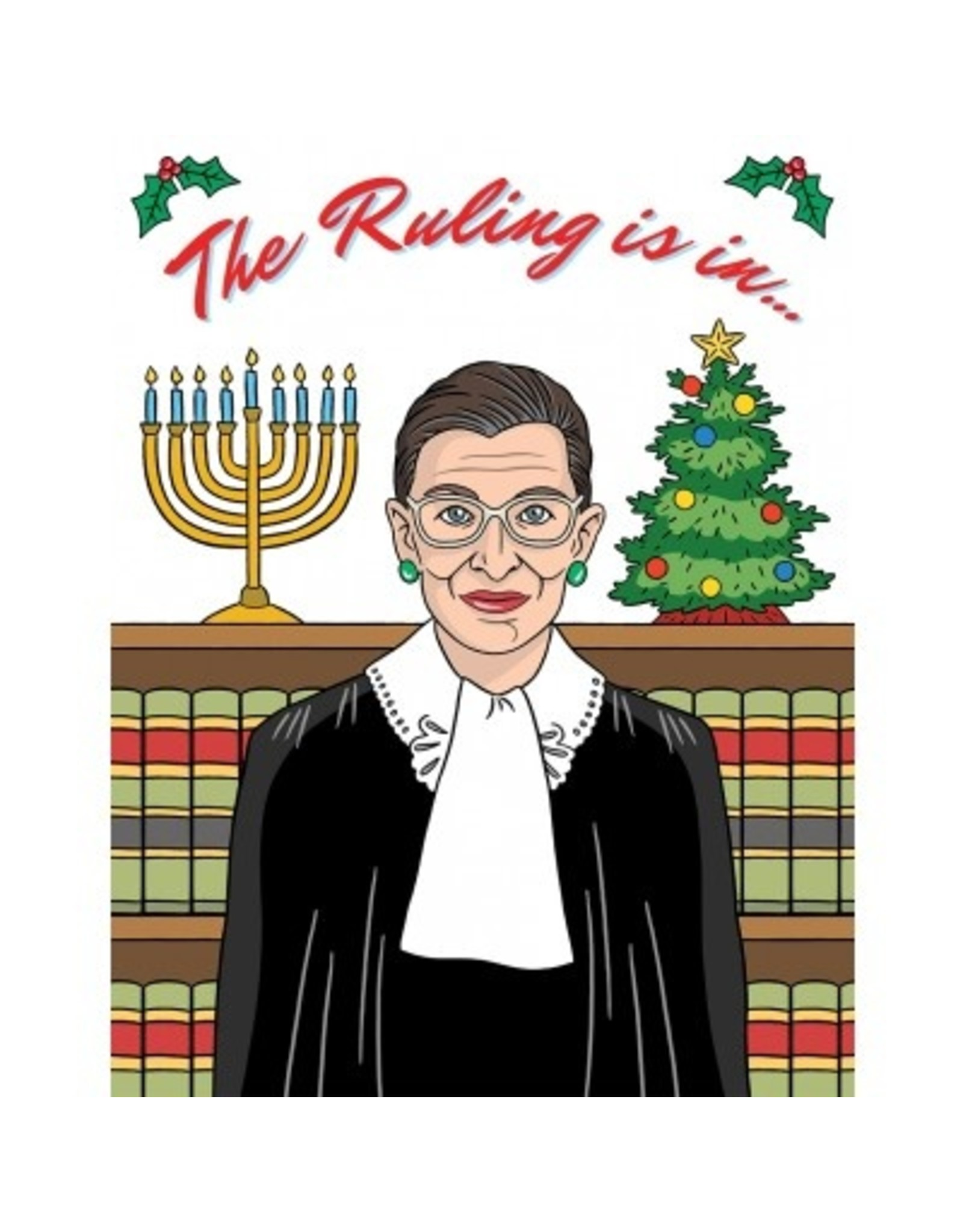 Holiday Card: The Ruling is in!