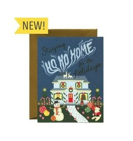 Holiday Card: Ho Ho Home