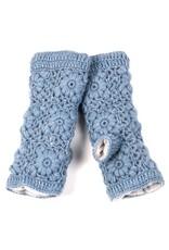 Flower Crochet Handwarmers