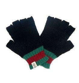 St Marks Stripe Glove in Black