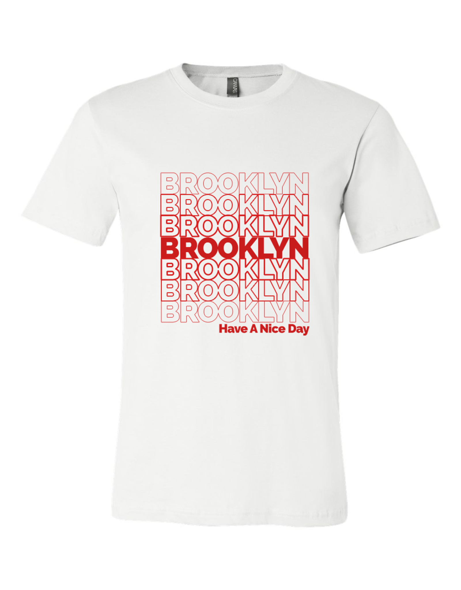 Exit9 Gift Emporium Brooklyn Repeating Pattern T-Shirt