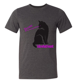 The Brooklyn Press Laser Cat T-shirt