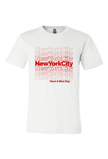 Exit9 Gift Emporium NYC Repeating Pattern T-Shirt
