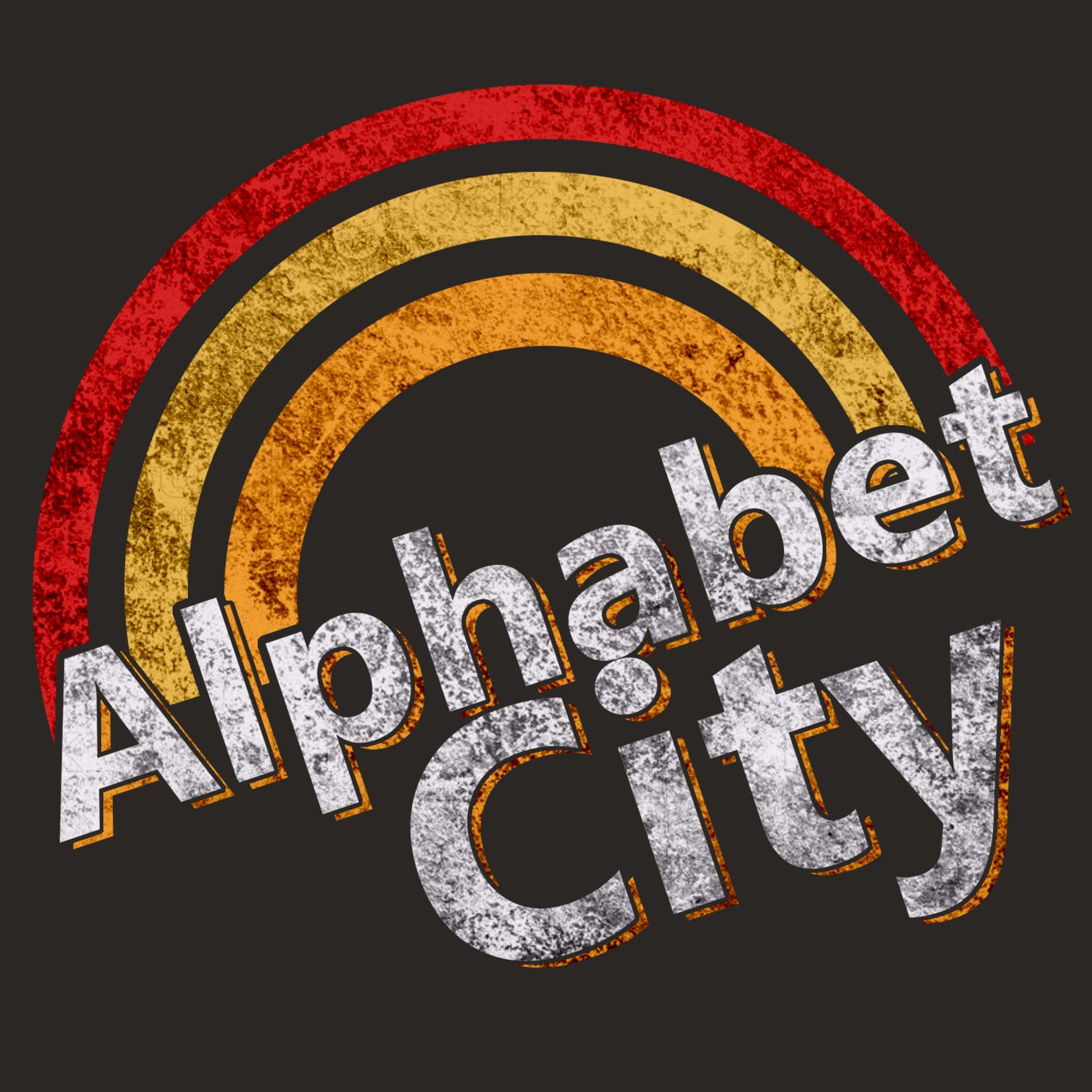 The Brooklyn Press Alphabet City Rainbow T-Shirt
