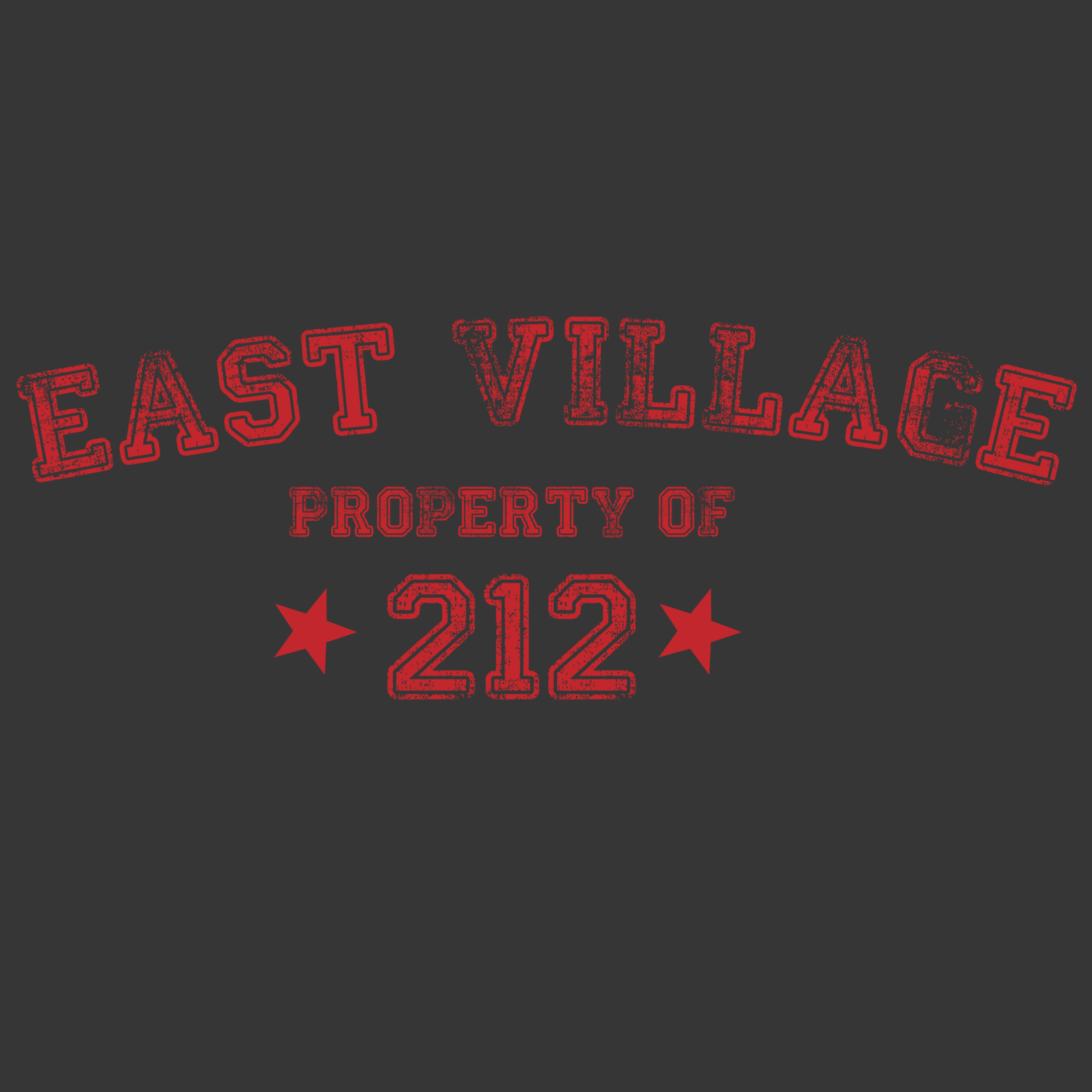Exit9 Gift Emporium Property of East Village T-Shirt