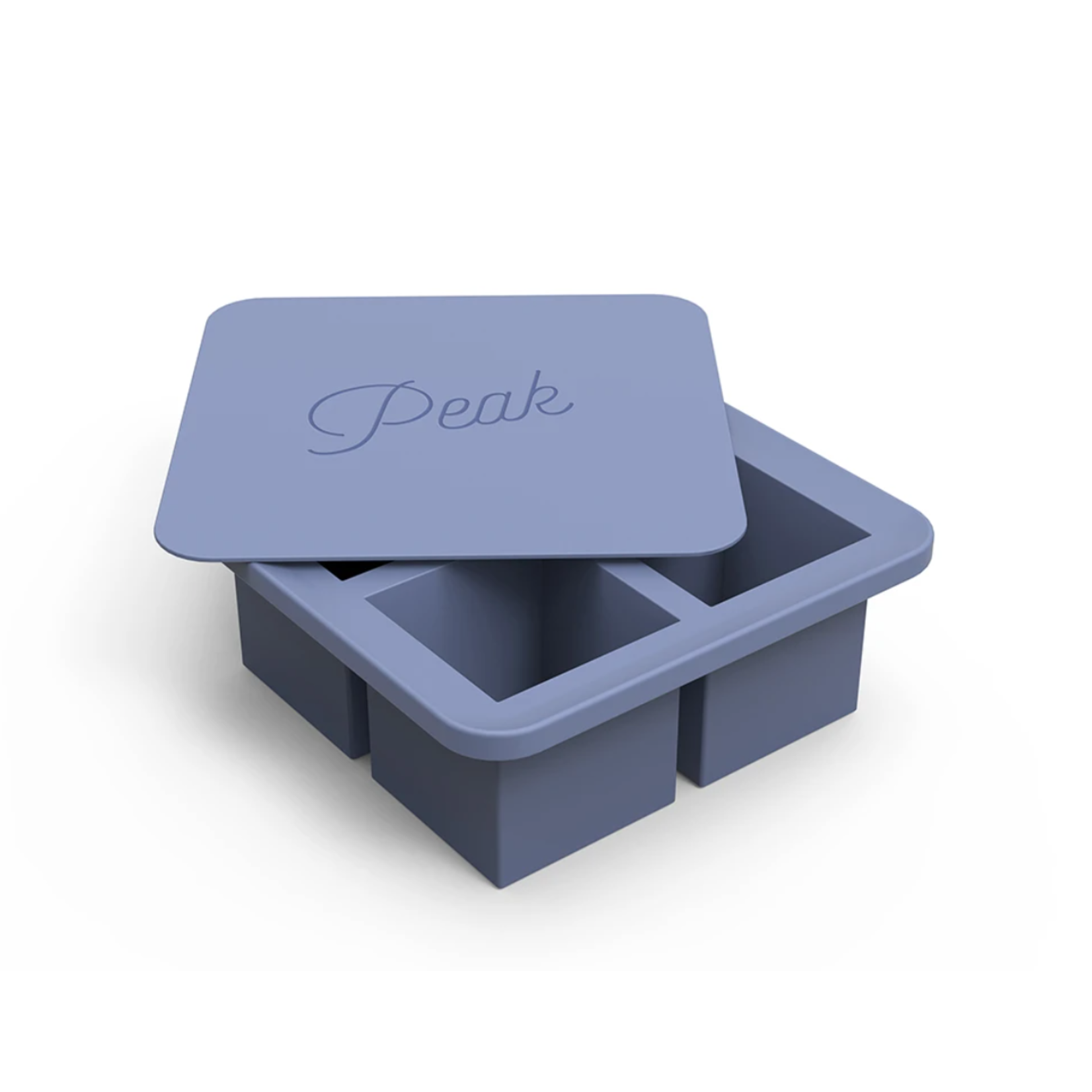 W & P Designs Peak XL Ice Cube Tray in Blue