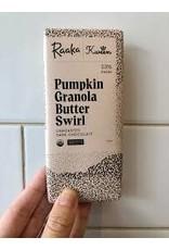 Raaka Pumpkin Granola Butter Swirl Chocolate Bar