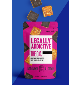 Legally Addictive OG Cracker Cookies
